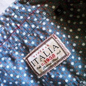 Vintage Italia short sleeve button down
